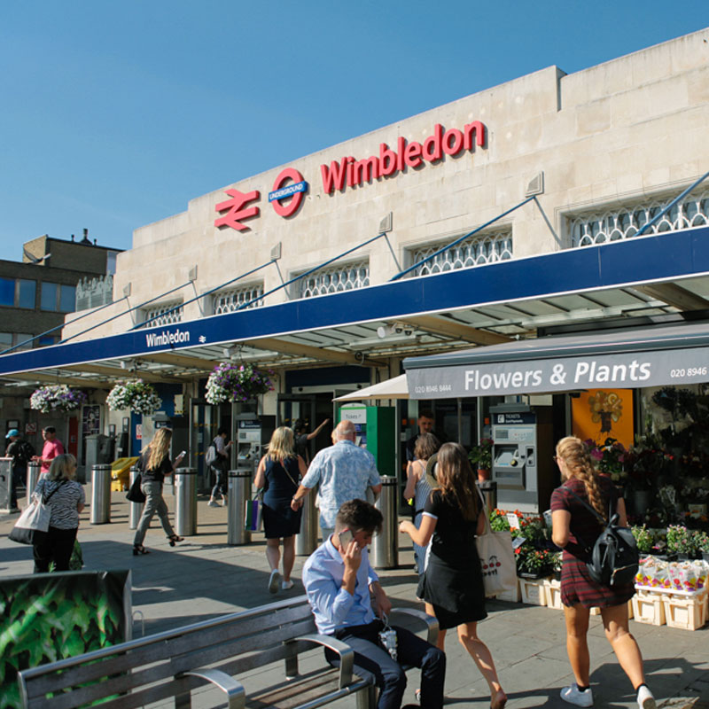 Summer in Wimbledon centre